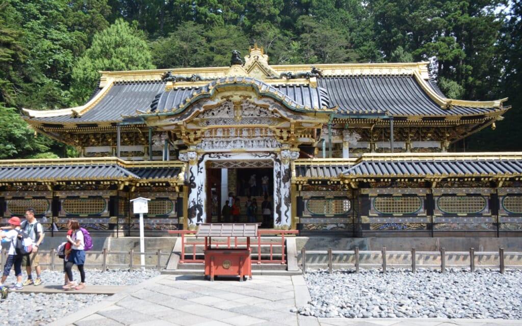 Toshogu Shrine in Nikko in Japan