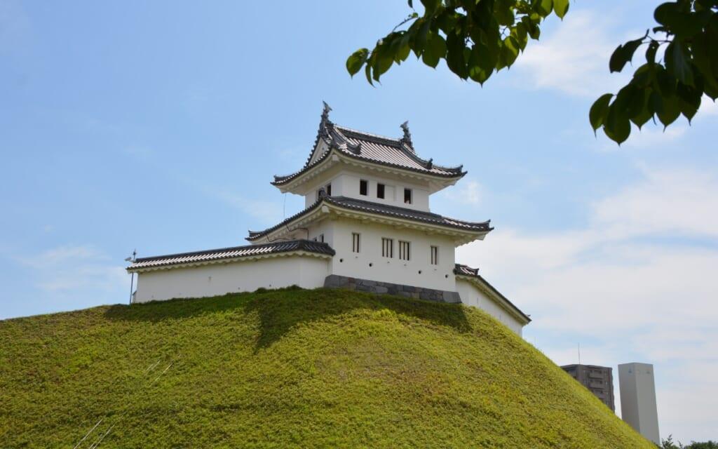Utsunomiya Castle in Japan