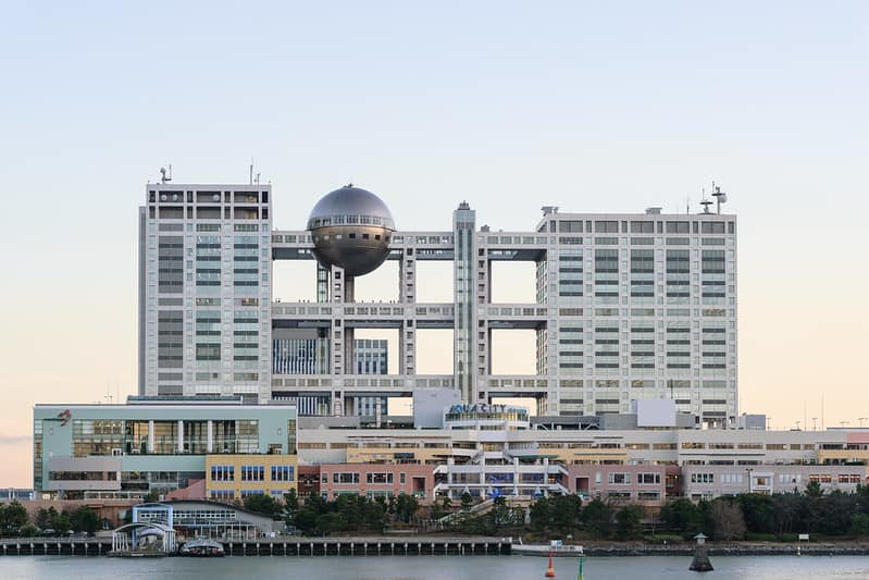 Fuji Television Network, building in Tokyo