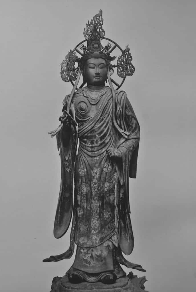 Statue of one of the 28 guardians at Sanjusangendo in Kyoto
