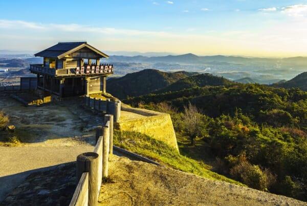 Kinojo Castle | Photo courtesy of Okayama Prefecture Tourism Federation