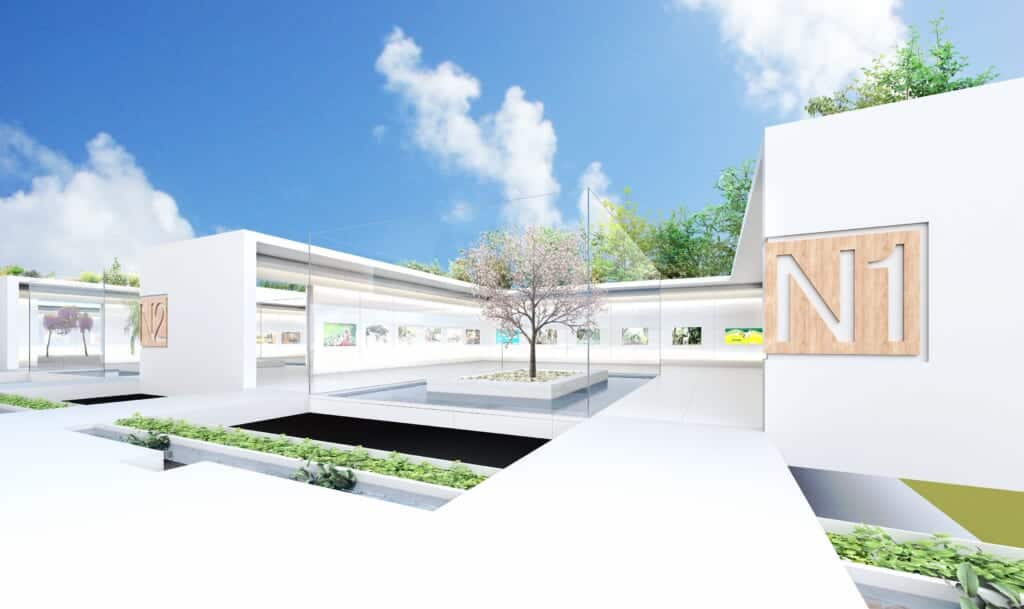 image of the virtual gallery for the Japan Cultural Expo