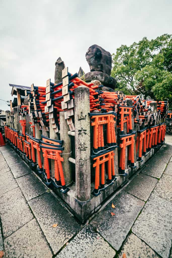 Offerings to Inari in Japan