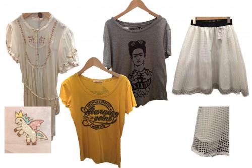 Vêtements chinés chez Treasure Factory au Japon