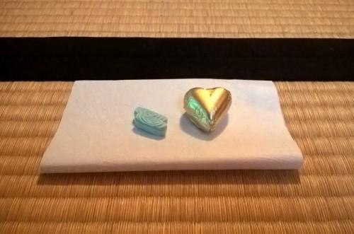Okashi, accessoire pour la cérémonie du thé.
