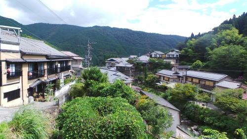 les ryokan du petit village de Yunohira à côté de Yufuin sur l'île de Kyushu