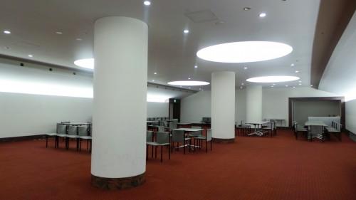 Salle de réunion du stade « Ōita Bank Dome » qui accueillera la coupe du monde de rugby au Japon de 2019 sur l'île de Kyushu