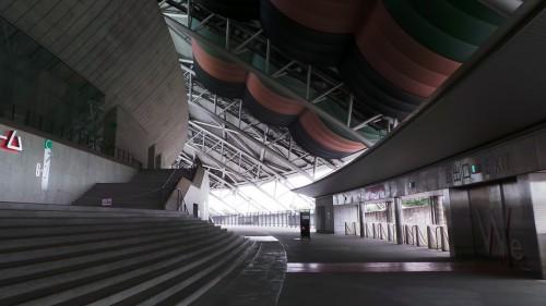Intérieur du stade « Ōita Bank Dome » pour la coupe du monde de rugby 2019 au Japon sur l'île de Kyushu