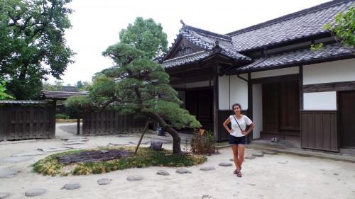 Ancienne résidence de samouraï ouverte au public à Kitsuki sur l'île de Kyushu