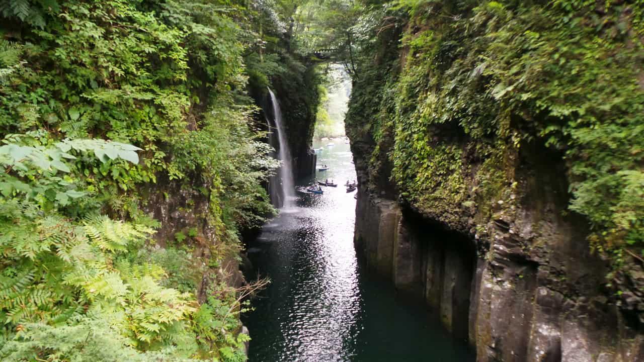 Takachiho : les impressionnantes gorges du Kyūshū
