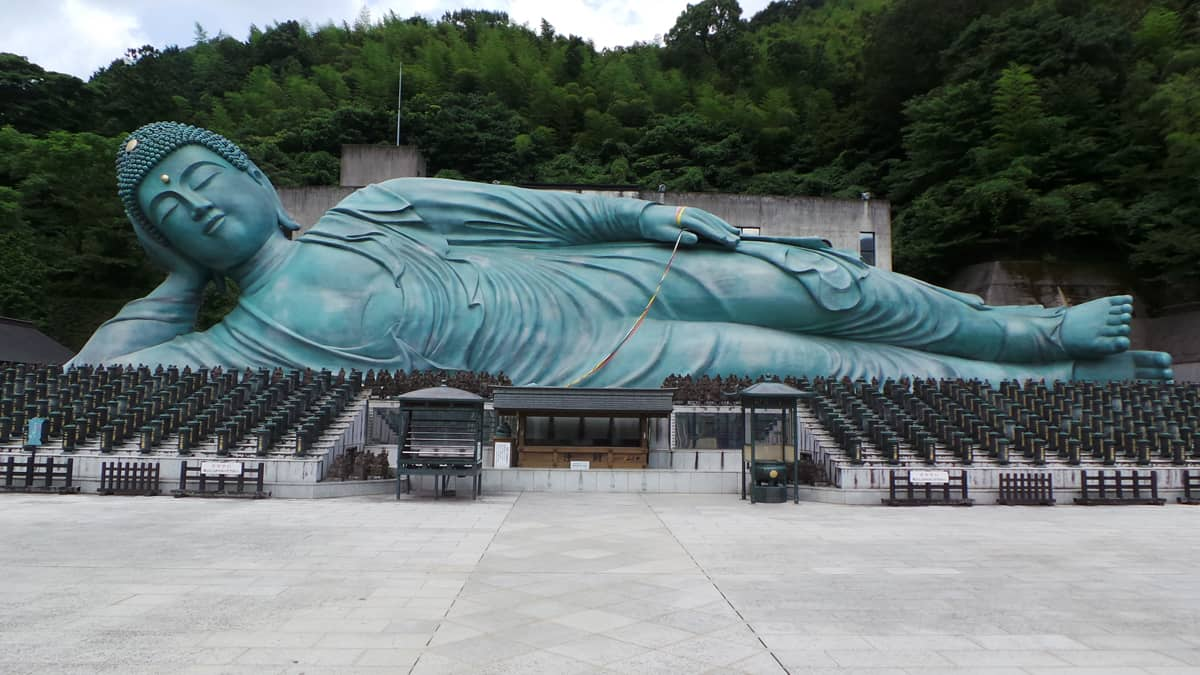 Bouddha Nanzoin à voir à Fukuoka