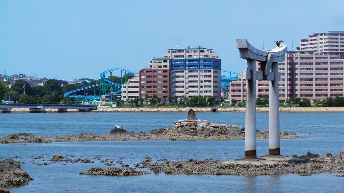 Torii Mishimajinja à voir à Fukuoka