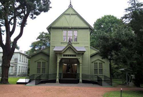 Musée du jardin botanique de Sapporo, Hokkaido, Japon.