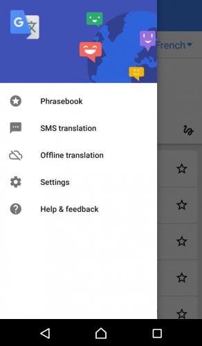 L'application google traduction, pratique pour décrypter le japonais.