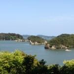 Fukuurajima : une des 260 îles de la baie de Matsushima