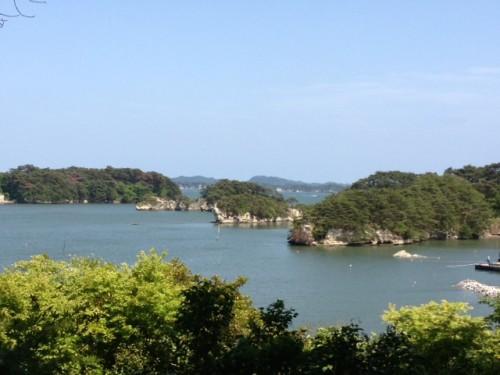 La baie de Matsushima située dans le nord-est de Honshu
