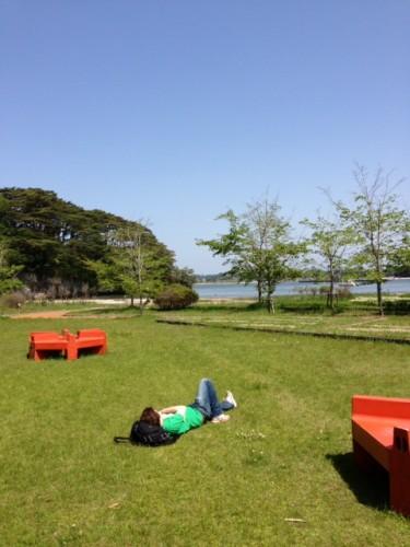 De nombreuses marches agréables sont possibles sur l'île de Fukuurajima