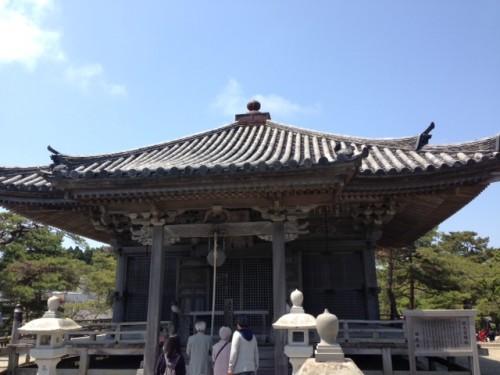 Un des temples à visiter dans la baie de Matsushima