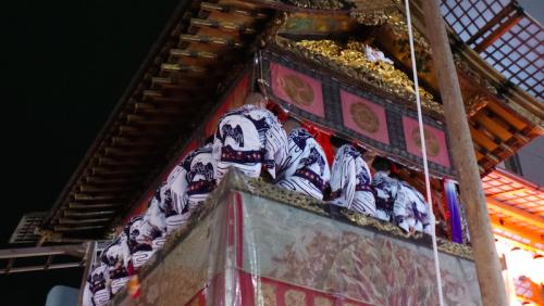 Char du festival Gion matsuri, Kyoto, Japon.