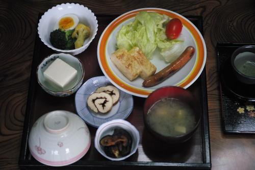Expérience en Nouhaku à Izumi : petit-déjeuner maison