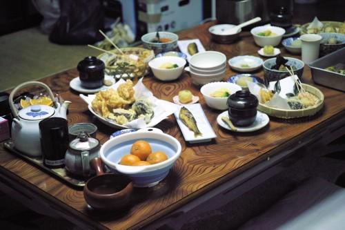 Expérience en Nouhaku à Izumi : dîner japonais maison