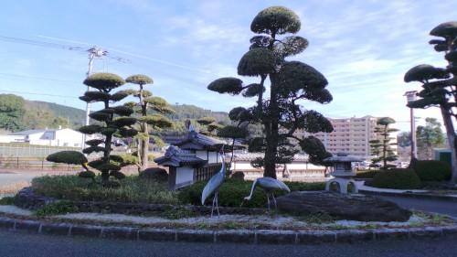 La gare d'Izumi, Kyushu, Japon.