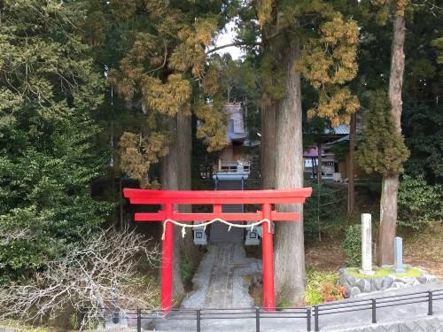 Suyama Sengen-jinja, sanctuaire dédié au Fuji, préfecture de Shizuoka, Japon.