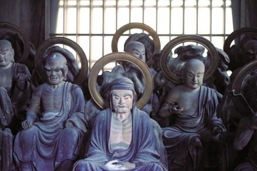 Temple Okuyama Houkouji dans la ville d'Hamamatsu, préfecture de Shizuoka