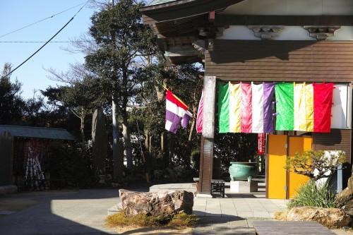 Le temple Kanzan-ji situé dans le mont Kanzan, Shizuoka