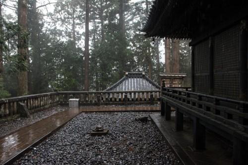 Okumiya, le tombeau de Ieyasu au sanctuaire Toshogu à Nikko