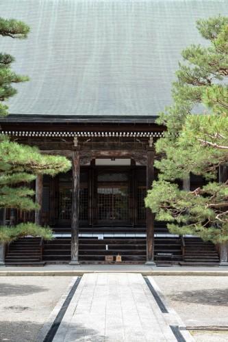 Le temple Shinshuji à Hida Furukawa, Gifu