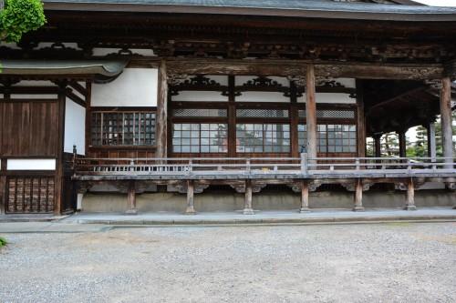 Le temple Honkouji à Hida Furukawa, Gifu