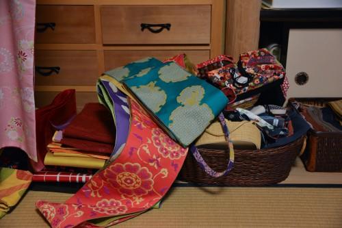 Le magasin Ohbora où l'on peut venir y porter un kimono pour la journée dans les rues de Hida Furukawa, Gifu