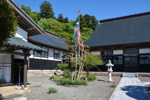 Le temple Manpukuji à Murakami