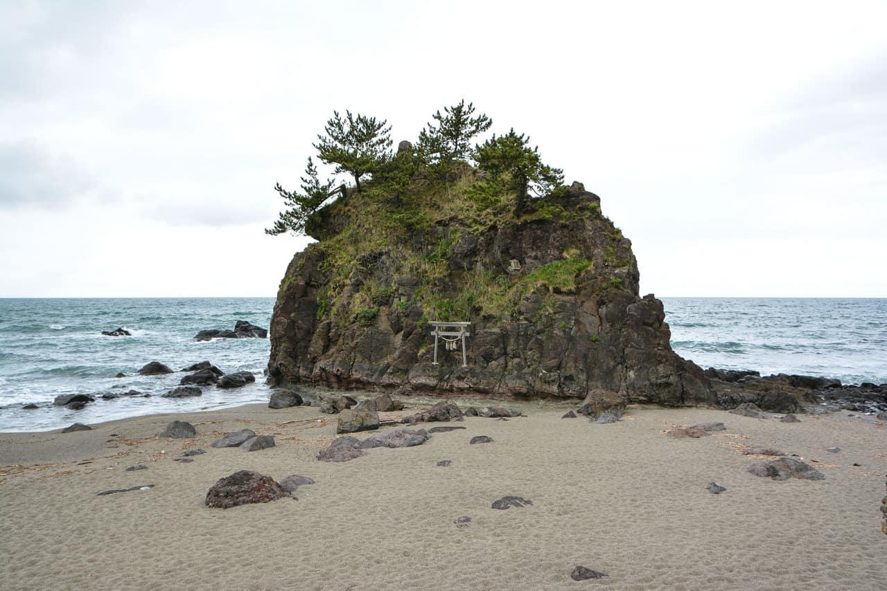 Gatsugi : une promenade au bord de la Mer du Japon, Niigata