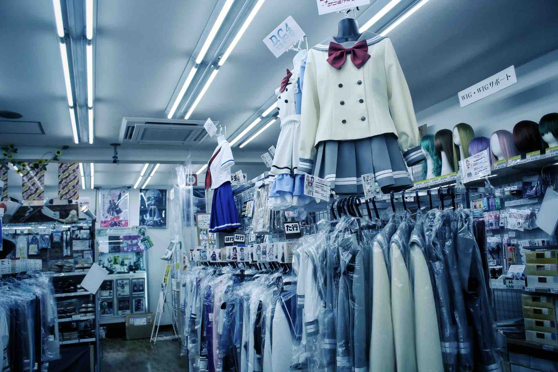 Boutique de Cosplay à Osaka dans Den Den Town