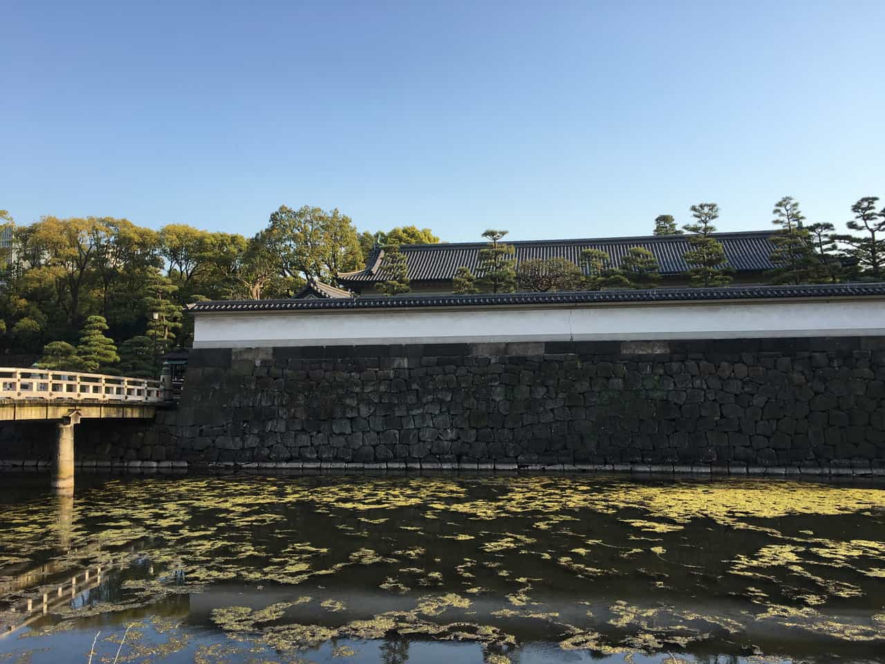Les jardins Est palais impérial à Tokyo, Japon.