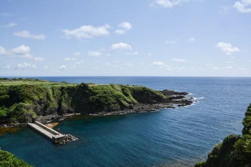 Chojagabashi à 3km du village Shukunegi, où l'on peut admirer la côte d'Ogi de l'île de Sado