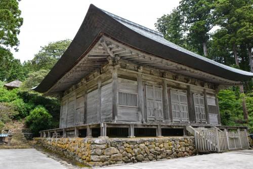 Le temple Rengebuji est un site historique à voir sur l'île de Sado, Niigata