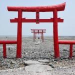 Découvrir le mystérieux torii dans la mer à Tara, Saga