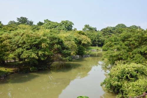 Le parc kagamiyama à Karatsu dans la préfecture de Saga