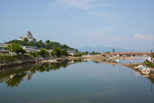 Dormir au ryokan de luxe Wataya à Karatsu dans la préfecture de Saga à Kyushu en plein coeur de la ville avec le chateau