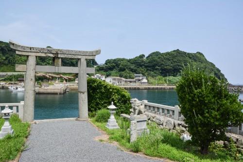 Tajima Shrine sur l'ile de Kabe dans la préfecture de Saga à Kyushu