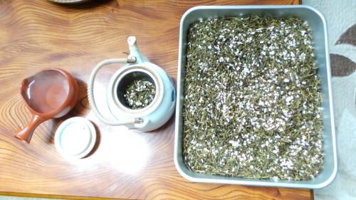 le thé genmaicha au Japon