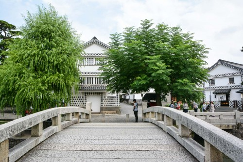 visite du quartier historique de Kurashiki, le Bikan avec Le Kôko-kan, le musée archéologique