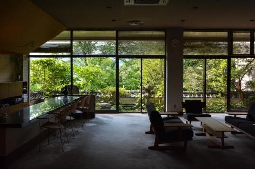 Le ryokan Mifuneyama Kanko Hotel à Takeo Onsen dans la prefecture de Saga avec le lobby