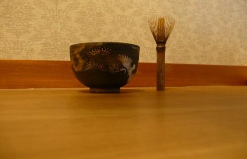 Feuilles de thé, Japon, cérémonie, art, matcha, raku