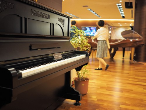 Pianos Yamaha, usine, visite, piano à queue