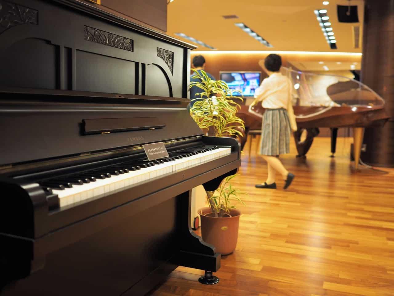 La naissance d'un piano à queue à l'usine Yamaha