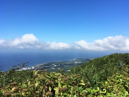 Oshima, Pacifique, île de Tokyo, cratère, Mihara, Motomachi